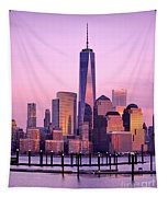 Freedom Tower Nyc Tapestry