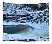 Freezing Dam Tapestry
