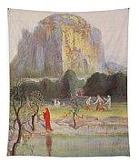 Freias Garden, 1906 Tapestry