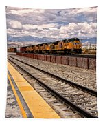 Freight Expectations Palm Springs Tapestry