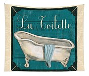 French Bath Tapestry