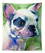French Bulldog Painting Tapestry