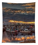 French Creek Sunrise Tapestry