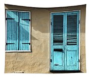 French Quarter Blues Tapestry