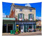 French Quarter Stroll New Orleans Tapestry