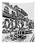 French Quarter - The Final Ride Tapestry