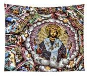 Fresco From Rila Monastery  Tapestry