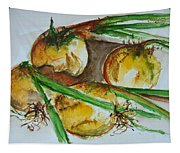 Fresh Onions Tapestry