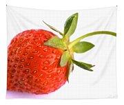 Fresh Red Strawberry Tapestry