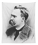 Friedrich Wilhelm Nietzsche In 1883 Tapestry
