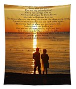 Friend For Life Poem Tapestry