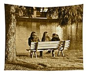 Friends In Sepia Tapestry