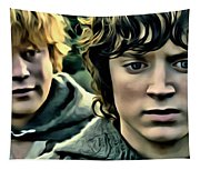Frodo And Samwise Tapestry
