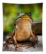 Frog Prince Or So He Thinks Tapestry
