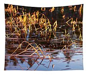 Froggy Sunset Tapestry