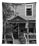 Front Porch Usa Black And White Tapestry