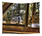 Front Side Window Antique Car Tapestry