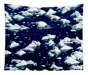 Frost Flakes On Ice - 05 Tapestry