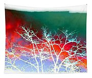 Frost Shrouded Tree Tapestry