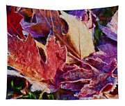 Frosted Leaves #2 - Painted Tapestry