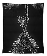 Frosted Pine Branch Tapestry