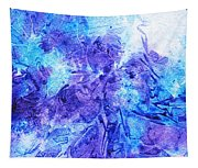 Frosted Window Abstract I   Tapestry