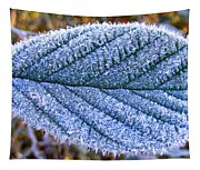 Frosty Leaf Tapestry