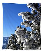 Frosty Limbs Tapestry