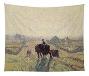 Frosty Sunrise Tapestry