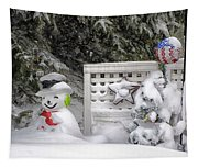 Frosty The Snow Man Tapestry