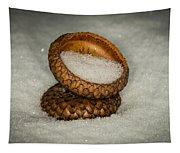 Frozen Acorn Cupule Tapestry