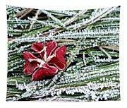 Frozen Flower Tapestry