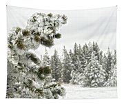 Frozen Forest Tapestry
