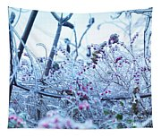 Frozen In Ice Nature Tapestry
