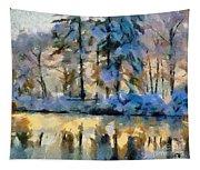 Frozen Lake Tapestry