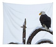 Frozen Perch Tapestry
