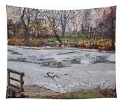 Frozen Pond Tapestry