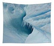 Frozen Turquoise Wonder... Tapestry