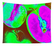 Fruitilicious - Lime And Green Apples - Photopower 1817 Tapestry