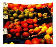 Fruits On The Market Tapestry