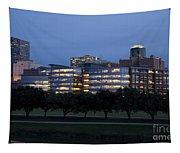 Ft. Worth Texas Skyline Tapestry