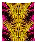 Fuchsia Sensation Abstract Tapestry