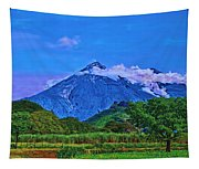 Fuego Volcano Guatamala Tapestry