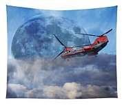 Full Moon Rescue Tapestry