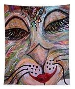 Funky Feline  Tapestry