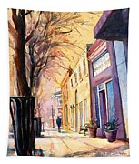 Fuquay-varina Downtown Tapestry