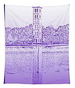Furman Bell Tower Tapestry