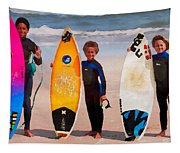 Future Surfing Champs Tapestry