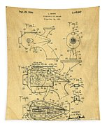 Futuristic Toy Gun Weapon Patent Tapestry