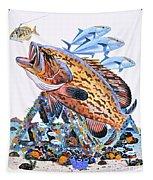 Gag Grouper Tapestry